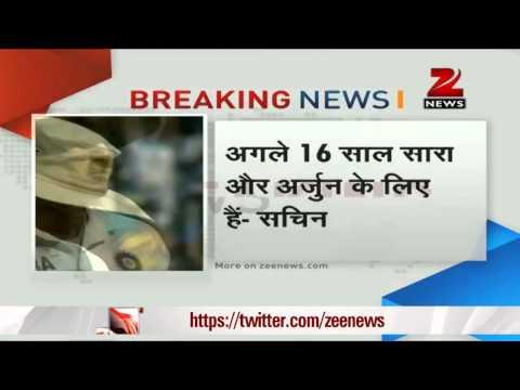 200th Test: Teary-eyed Sachin Tendulkar's emotional speech,says goodbye to cricket