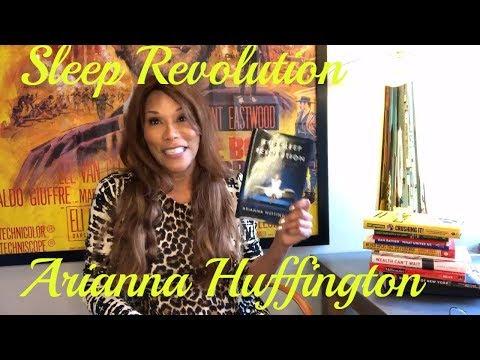 Dena's Book Club I Arianna Huffington Sleep Revolution I Book Review I 2018 Web TV