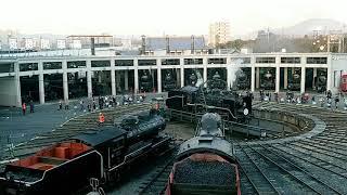 교토 철도박물관 증기기관차