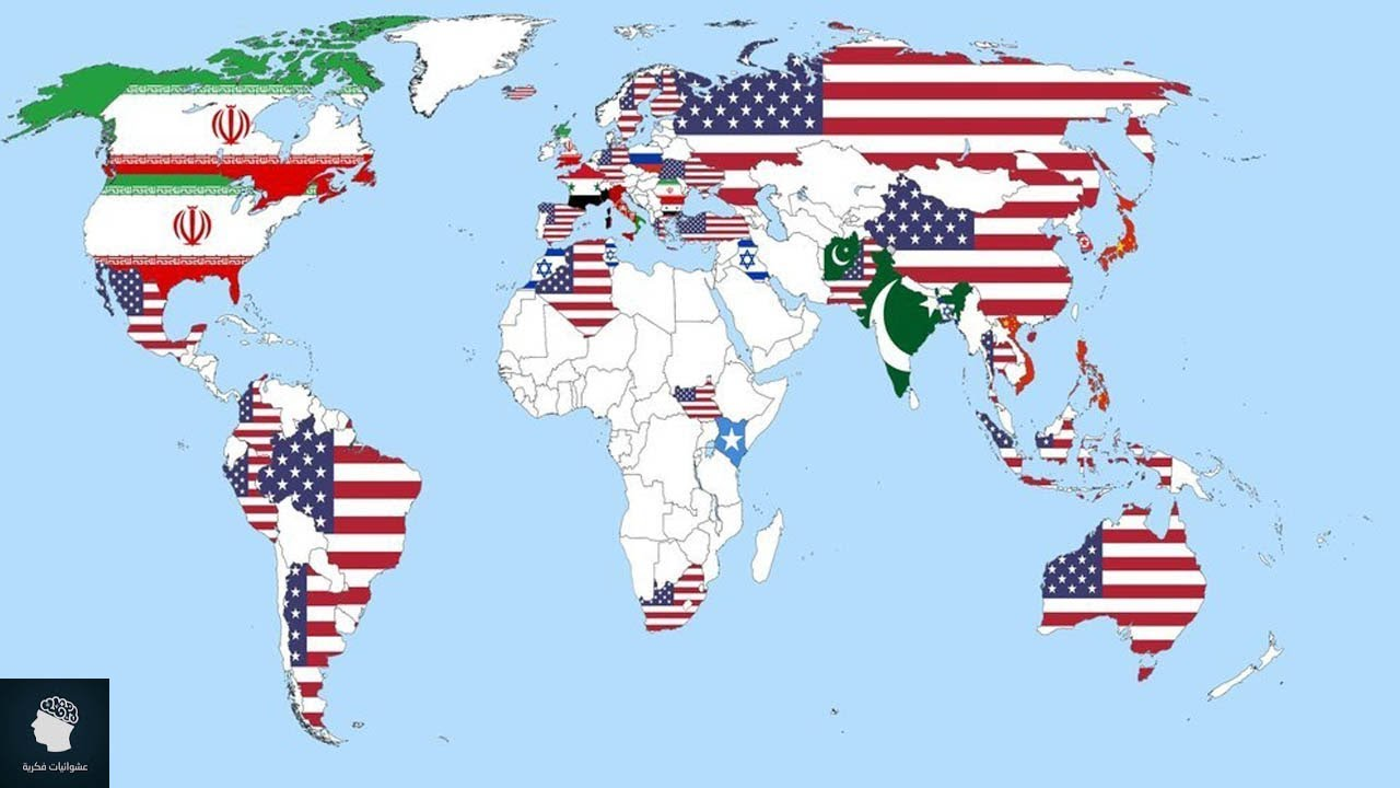 13 خريطة مذهلة  ستغير نظرتك الى العالم  بشكل كامل #2