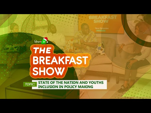 STATE OF THE NATION AND YOUTHS INCLUSION IN POLICY MAKING