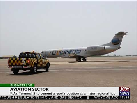 Aviation Sector - Business Live on JoyNews (17-10-17)