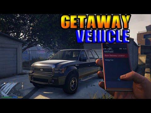 GTA 5 Getaway Vehicle  - Where To Put The Getaway Vehicle