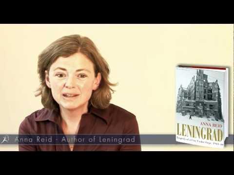 Author Anna Reid discusses new book 'Leningrad'