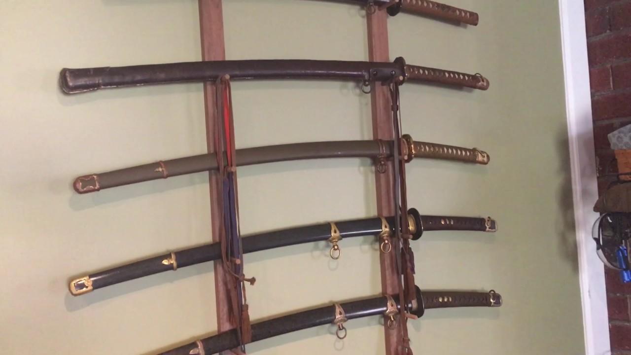 Japanese World War II Samurai Style Military Swords