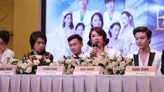 Diễn viên Thúy Ngân chia sẻ về web drama Bệnh viện thần ái