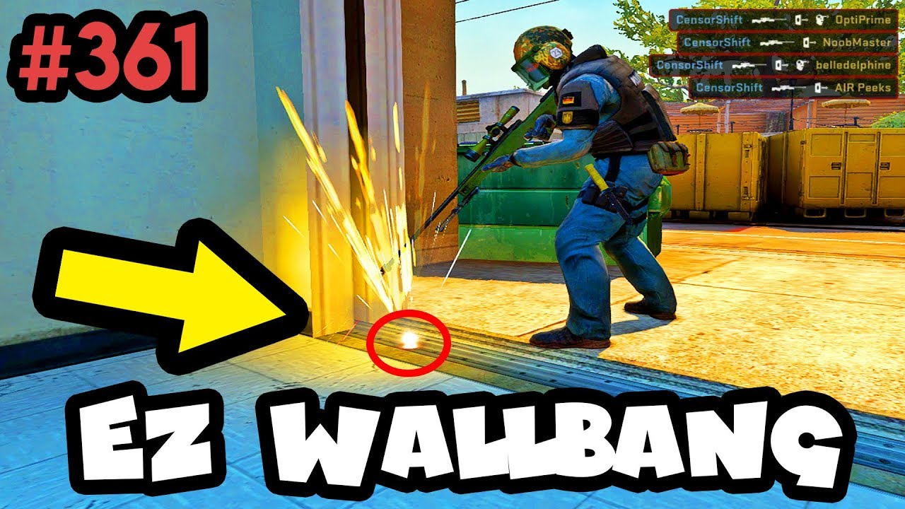 TYPICAL MATCHMAKING IN 2019... - CS:GO BEST ODDSHOTS #361