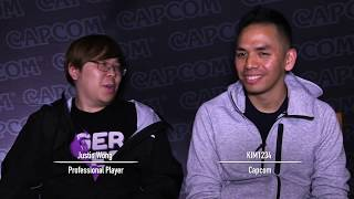 Street Fighter V: Arcade Edition - Sagat and G Showcase with Justin Wong
