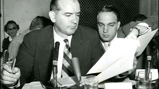 Sen. Joe McCarthy with lawyer Roy Cohn