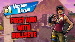 Fortnite: FIRST WIN WITH NEW BULLSEYE SKIN w/ MJMisfit MrTucanSlam!!