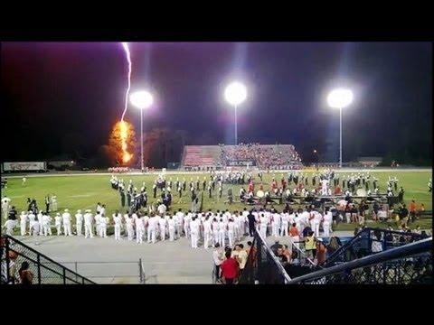 Lightning strike ends High School Football Friday the 13th