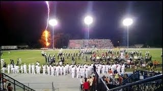 Lightning strike ends High School Football Friday the 13th