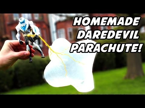 How To Make A Parachute At Home