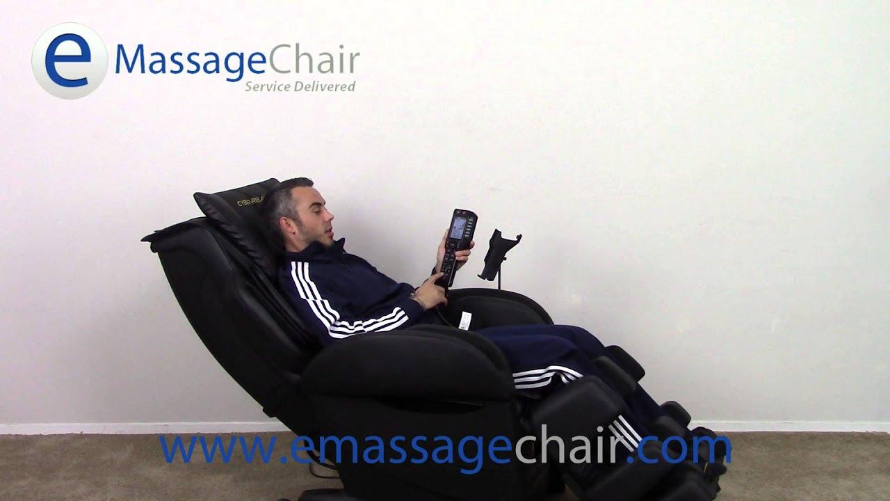 Fujiiryoki Cyber Relax EC 3800 Massage Chair   Stretch