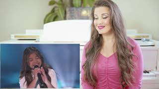 Vocal Coach Reacts to Angelica Hale- Fight Song