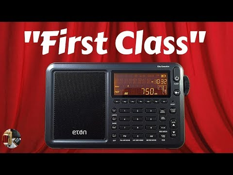 Eton Elite Executive AM FM LW SW SSB AIR Band Radio Review