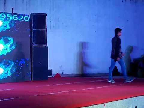 Giani zail Singh 2K16 cse fresher party by anand kumar