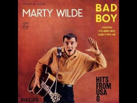 Marty Wilde   It's been nice     1959  ( B.B. LE 27/01/2019 ). Mp3