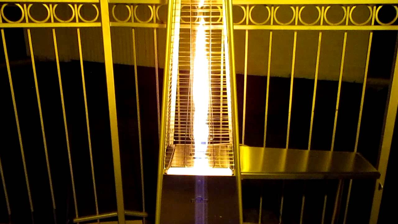 Napoleon Outdoor Patio Heater Bellagio Commercial Radiant Propane Natural  Gas   YouTube