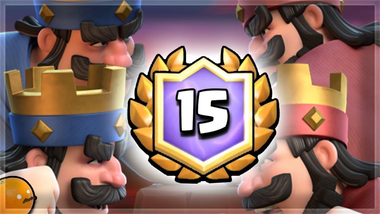 2v2 CRL 15 Win Challenge Decks!| Clash Royale 🍊