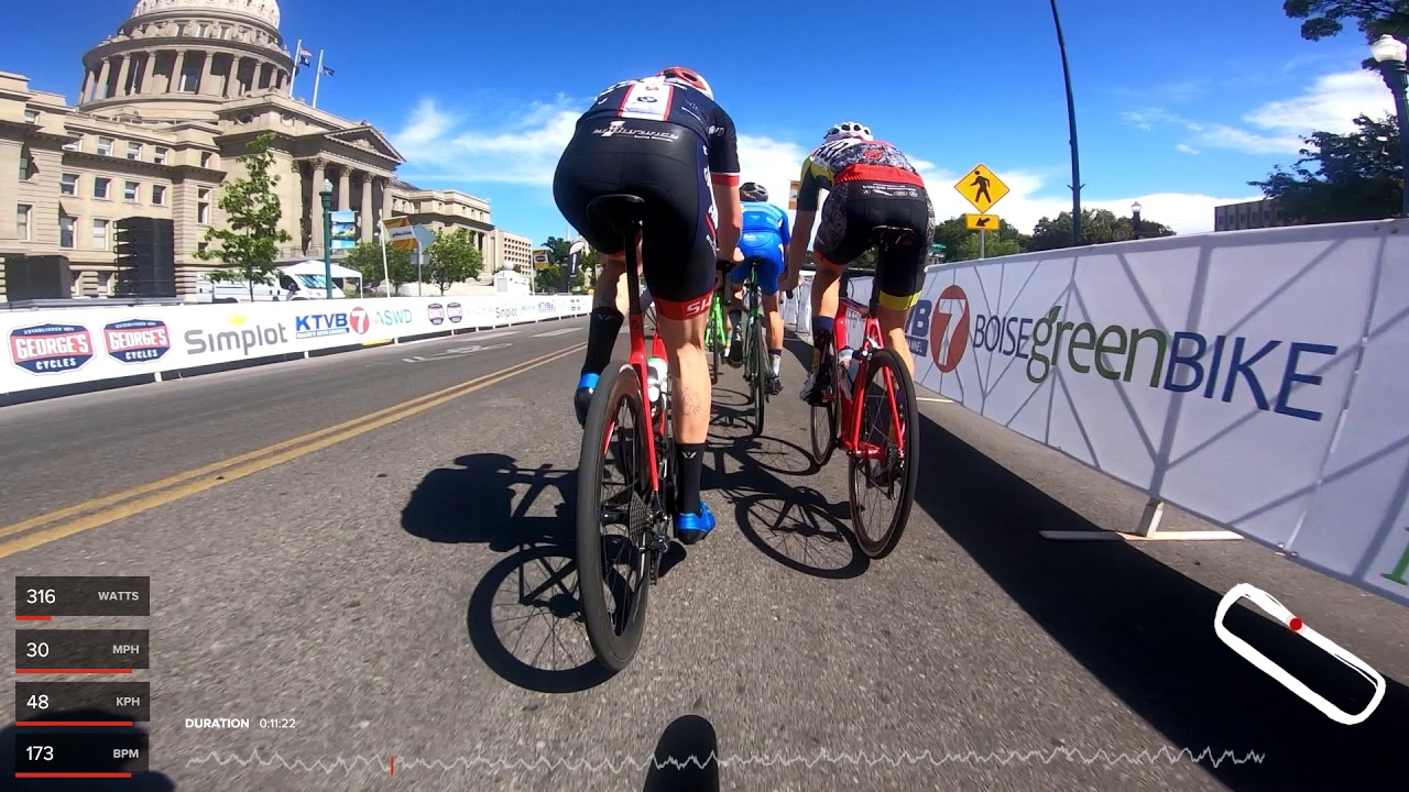2019 Boise Twilight E1/2/3 Criterium – Full Race - TrainerRoad