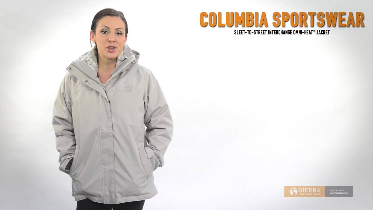 3 in 1 interchange jacket women's