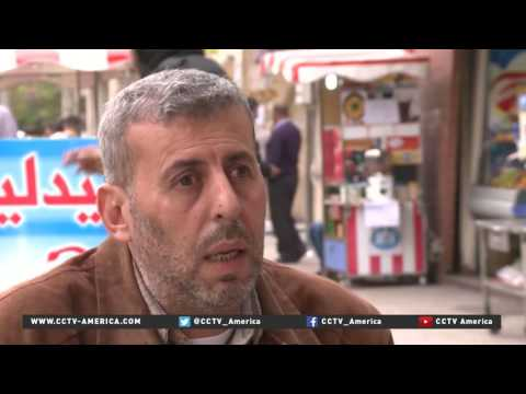 Aleppo shop owner struggles to adapt after business shut down