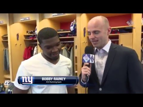 Giants Insider: RB Bobby Rainey