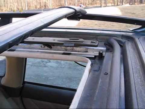 Subaru Outback Sunshade Repair Youtube