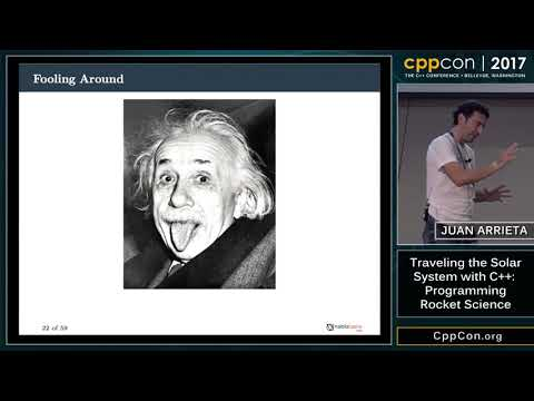 "CppCon 2017: Juan Arrieta ""Traveling the Solar System with C"