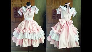 ♣  DIY Sweet LOLITA Ep 10 ♣ Lolita Dress Tutorial