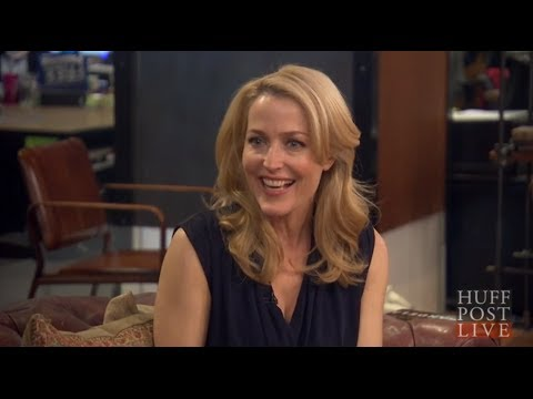 Gillian Anderson Opens Up On Relationship With David Duchovny