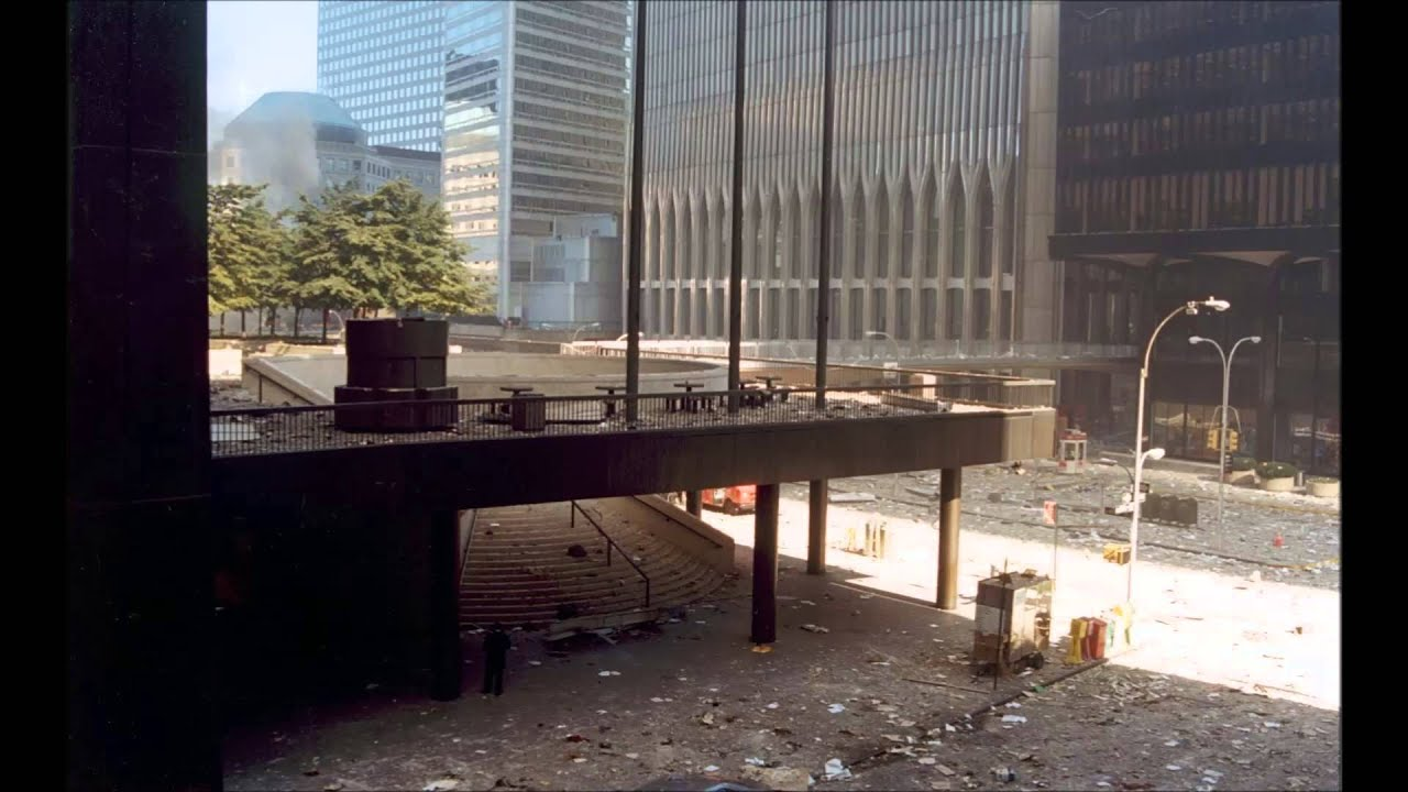 Ground After Twin Towers People Jumping Out