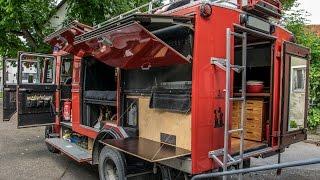 Turning a Firetruck into a Camper - Mercedes LP608