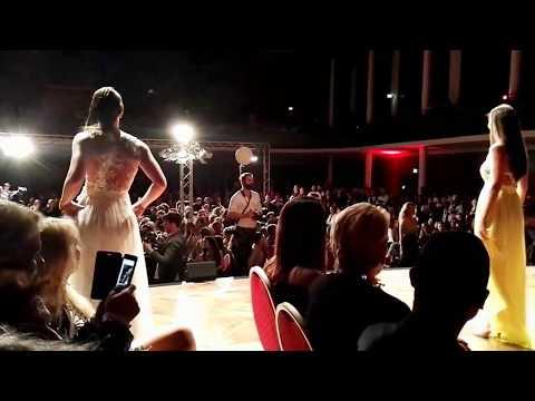 Secret Fashion Show München 2017 Abendkleid Modenshow Catwalk Models Mai