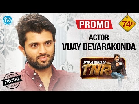 Arjun Reddy Hero Vijay Deverakonda Interview Promo - || Frankly With TNR #74