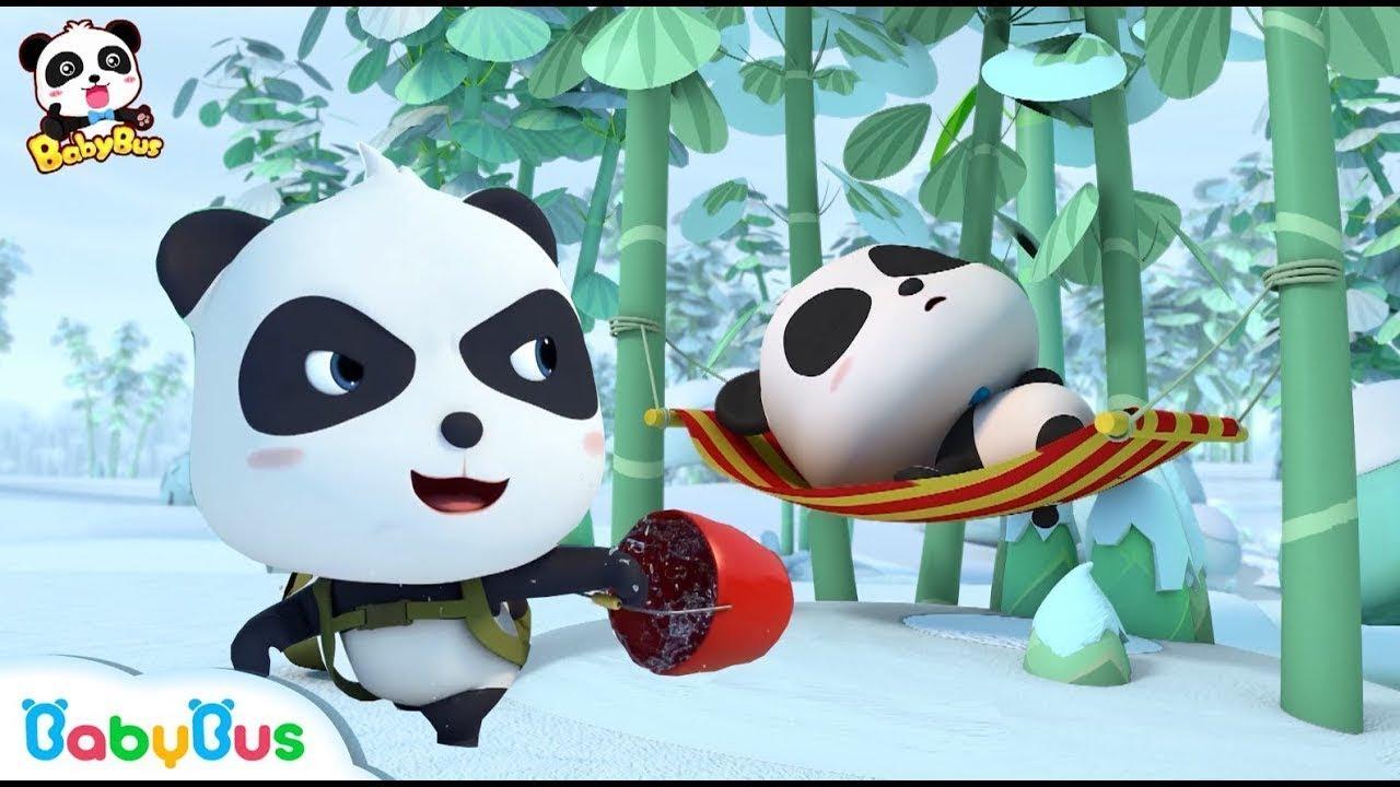 Real Panda And Fake Panda Who Is Real Kids Cartoon Panda Cartoon Babies Videos