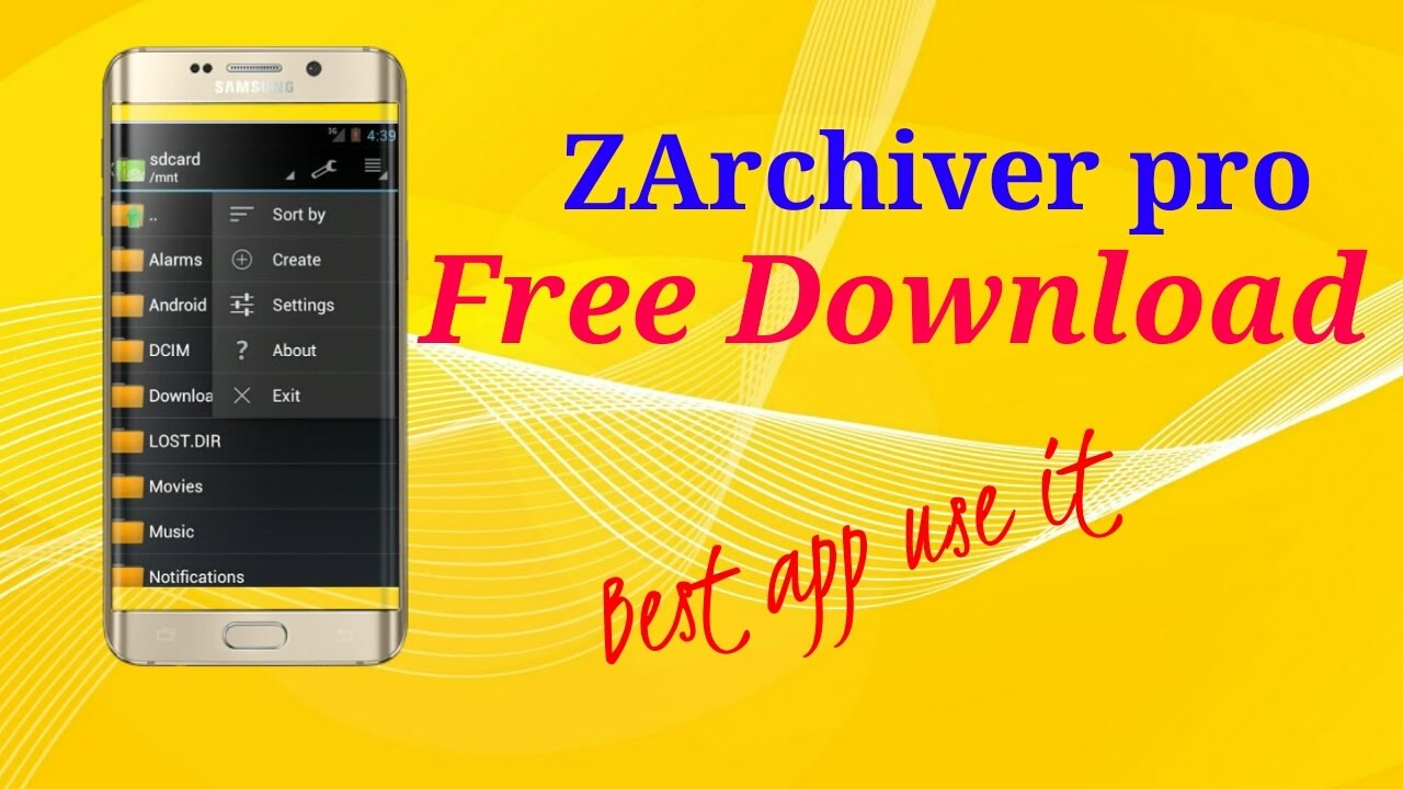 Zarchiver pro for android