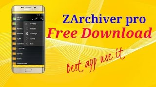 Download lagu How to download ZArchiver pro in android