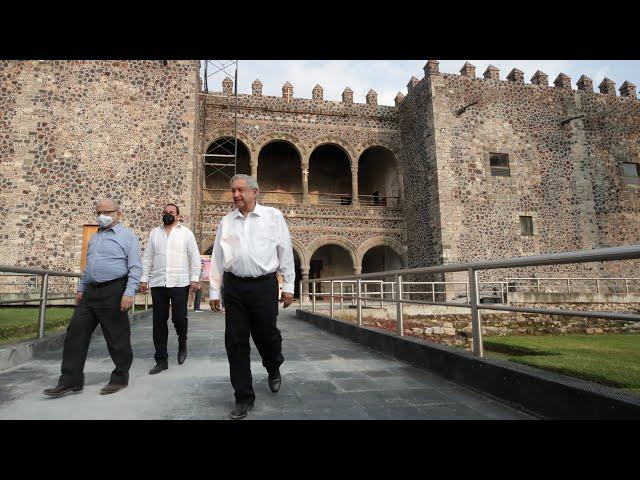 Programa Nacional de Reconstrucción, desde Cuernavaca, Morelos