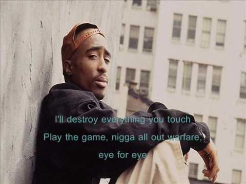 2Pac - Against All Odds (lyrics)