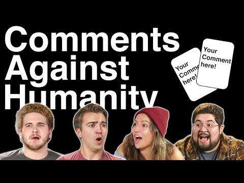 Comments Against Humanity w/ Tom, Tori, Eric, and Brandon!!