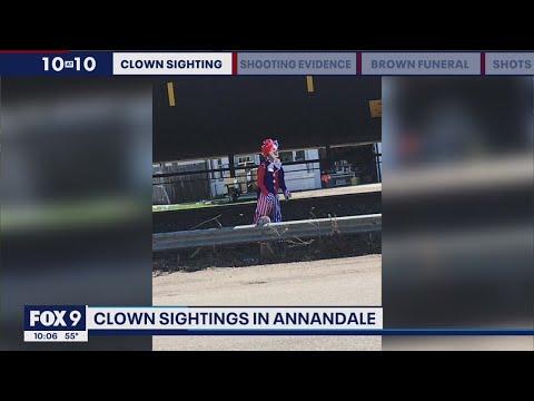 Clown sightings receive mixed reactions in Annandale, Minnesota | FOX 9 KMSP
