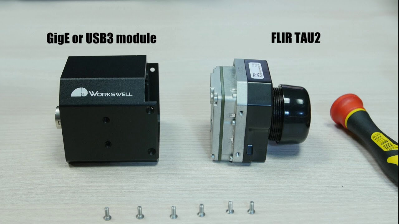 USB3 and GigE modules for FLIR TAU2 cameras | Workswell