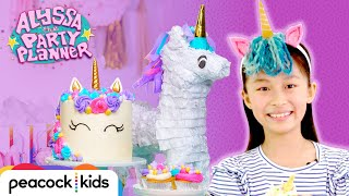 Throwing a Unicorn Party! (DIY Headband + Cute Cupcakes) | ALYSSA THE PARTY PLANNER