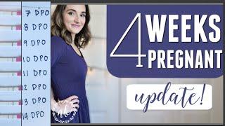 4 WEEKS PREGNANT | Pregnancy Test Line Progression (7-14 DPO)