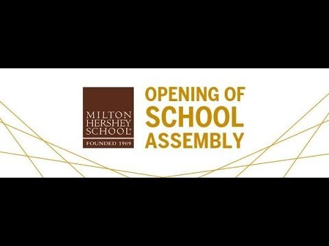 2019 Opening of School Assembly: Join the students and staff of Milton Hershey School as we celeb...