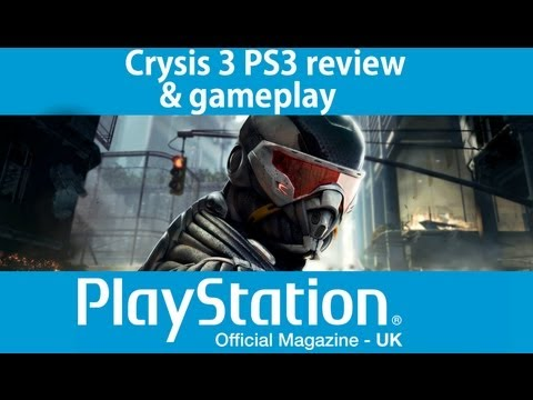 Crysis 3 PS3 gameplay & review video