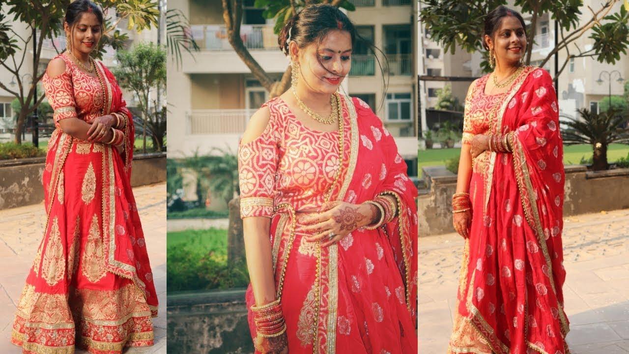 Karwa chauth Pooja Vidhi in Hindi | Secret Karwachauth Gift | Srishti's Diary