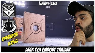 Rainbow Six Siege: Operation Shifting Tides - Y4S4 Leaked Gadget CGI Trailer Reaction